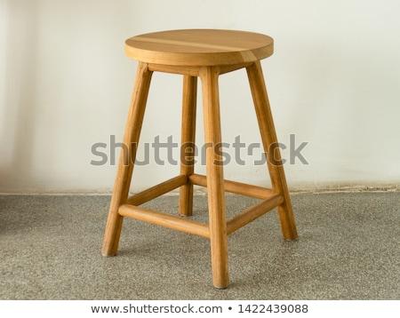 wooden stool stock photo © paha_l