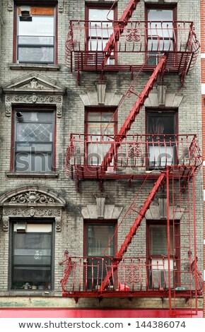 gebouw · details · trap · reizen · standbeeld · geschiedenis - stockfoto © capturelight