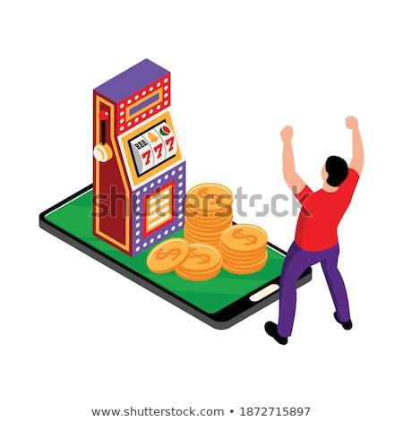 composite image of gambling app screen stock photo © wavebreak_media