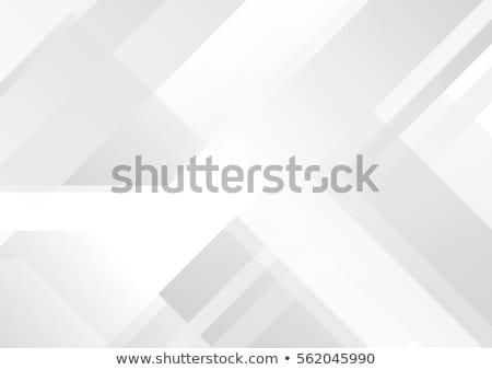 abstract grey geometric tech background stock photo © saicle