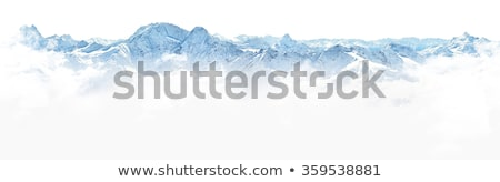 landscape white mountain Stock photo © lostation