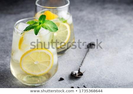 Mint and Lemon Drink Stock photo © zhekos