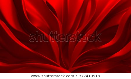 3D Illustration Abstract Red Background Cloth Stock photo © brux