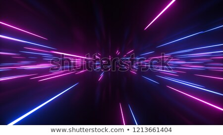 neon · horyzoncie · retro · 80s · cyfrowe · niebo - zdjęcia stock © solarseven