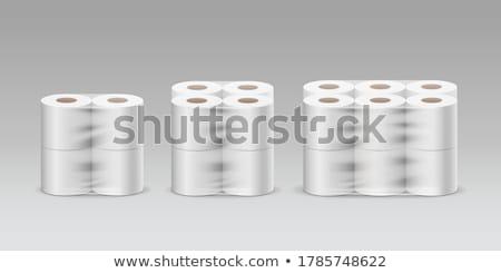 Algemeen zachte product verpakking witte plastic Stockfoto © albund