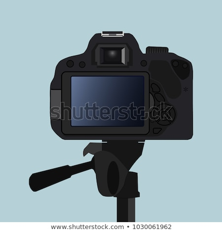 Video recorder back view Stock photo © vtls
