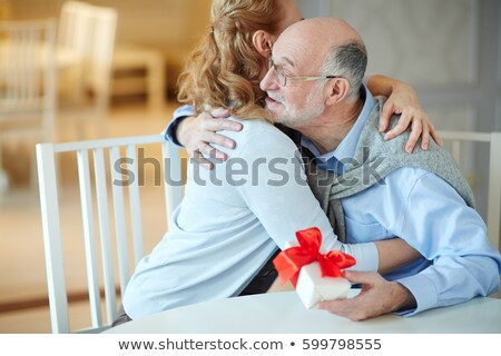 Senior Man With Gifts Stock photo © IS2