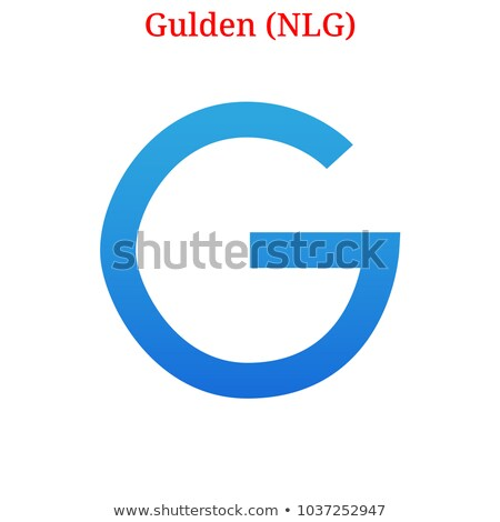 Electronicgulden Cryptocurrency - Vector Sign Icon. Stock photo © tashatuvango