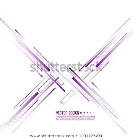 Streszczenie prosto linie nowoczesne wektora stylu Zdjęcia stock © designleo