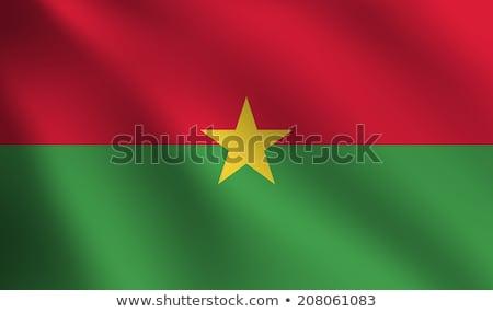 Буркина- флаг вектора изображение интернет Сток-фото © Amplion