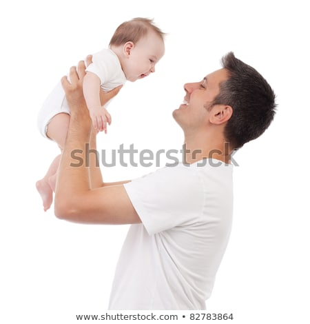 Baby boy in four actions Stock photo © colematt