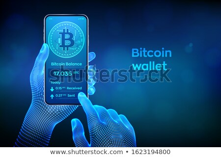 Bank rekening illustratie vector icon digitale Stockfoto © tashatuvango
