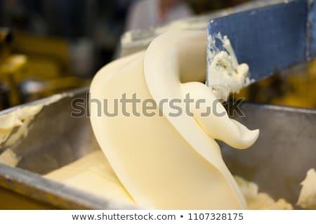 新鮮な バター 生産 乳製品 工場 食品 ストックフォト © grafvision