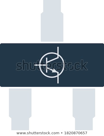Smd transistor icon Stock photo © angelp