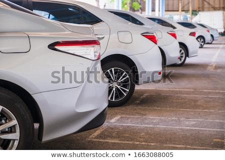 ストックフォト: レンタル · 車 · 購入 · アイコン · 手