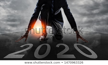 Year 2020 Increasing Growth Graph Concept Stock photo © ivelin