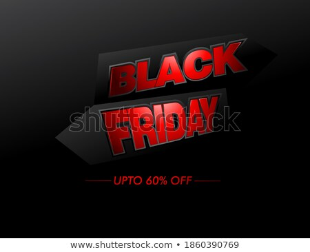 black · friday · verkoop · banner · vector · groot · super - stockfoto © decorwithme