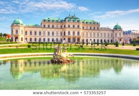 palacio · Viena · uno · hermosa · barroco · Europa - foto stock © borisb17