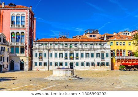 観光客 ヴェネツィア イタリア ツリー 建物 通り ストックフォト © ShustrikS