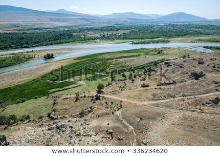 View of Kura river, Georgia Stock photo © borisb17