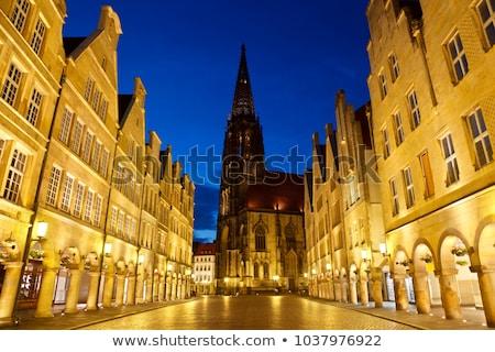 Prinzipalmarkt, Munster, Germany Stock photo © borisb17