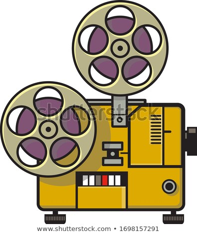 Vintage film film projector retro vol Stockfoto © patrimonio