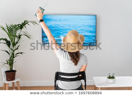 Staycation 2020 - stay home summer vacation Stock photo © Zsuskaa