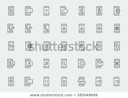 Pay by Mobile, Cell Smart Phone Stock photo © fenton