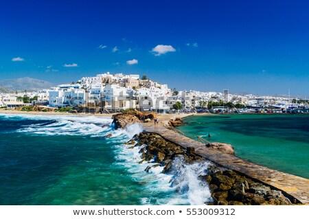 Naxos in Greece Stock photo © prill