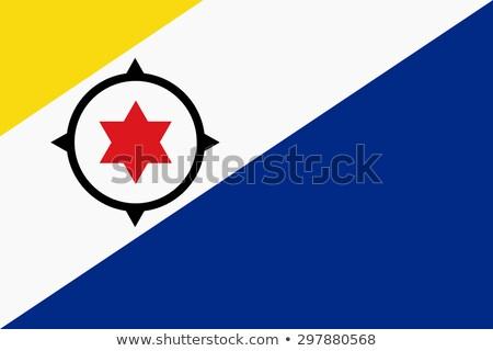 Flag of Bonaire Stock photo © creisinger