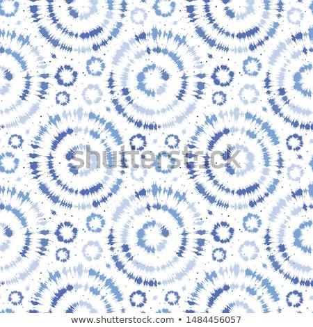 синий Круги бесшовный зима белый дизайна Сток-фото © Lemuana