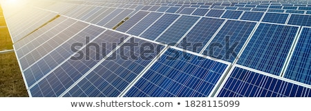 solar cells Stock photo © Witthaya