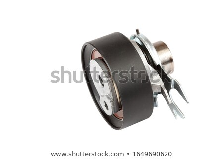 tension pulley and timing belt Stock photo © RuslanOmega