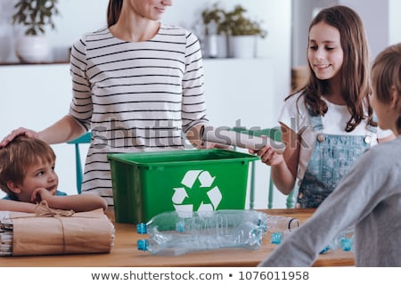 Family recycling Stock photo © photography33
