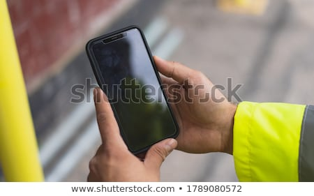 Man holding contraption in hand Stock photo © photography33