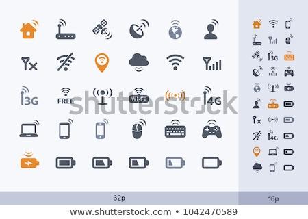 3D · 4g · vezetéknélküli · kommunikáció · technológia · szimbólum · renderelt · kép - stock fotó © 4designersart