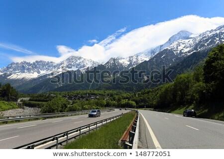 autoroute direction Stock photo © vwalakte