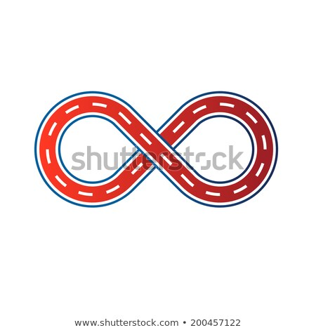 Directional Figure Eight Loop Stock photo © Zerbor