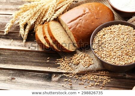 yoksul · kirli · çocuk · dilim · ekmek - stok fotoğraf © lightsource