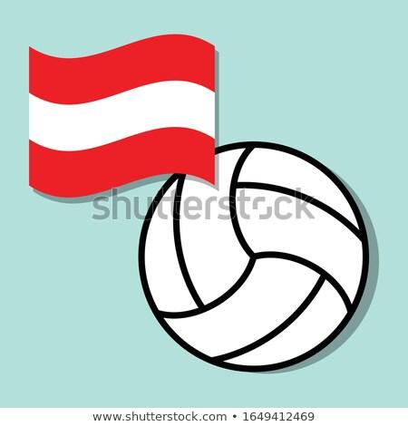 Austrian Volleyball Team Stock photo © bosphorus