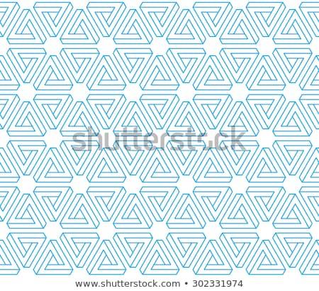 onmogelijk · driehoek · illustratie · business · licht · ontwerp - stockfoto © shawlinmohd