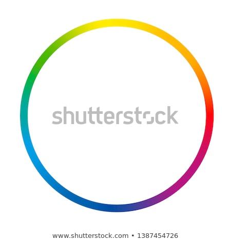 Színes gyűrű absztrakt spektrum rétegek fekete Stock fotó © dvarg