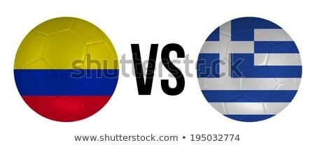 Colombia vs Griekenland groep fase wedstrijd Stockfoto © smocker03