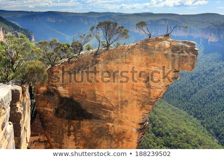 grose valley in blue mountains australia stock photo © backyardproductions