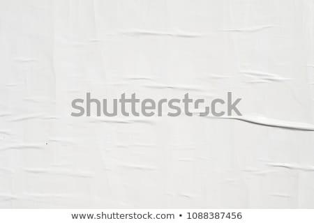 Gescheurd vel muur gescheurd papier beton man Stockfoto © Johny87