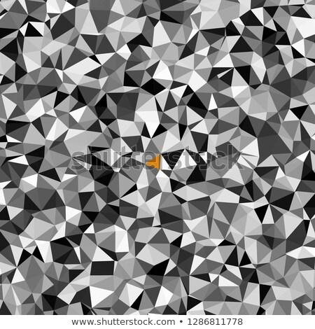 Integrity on Multicolor Puzzle. Stock photo © tashatuvango
