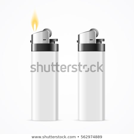 Beyaz çakmak soyut duman kâğıt ışık Stok fotoğraf © mady70