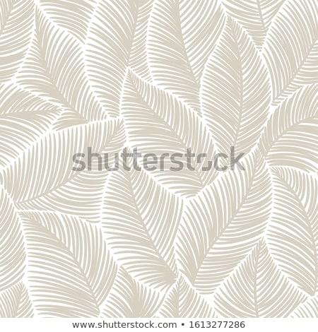 virágmintás · levél · végtelen · minta · ág · levelek · dísz - stock fotó © elenapro