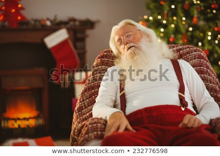 Sleeping Santa Stock photo © Novic