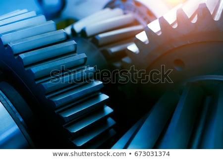Engins détails vanne technologie métal Voyage Photo stock © eleaner